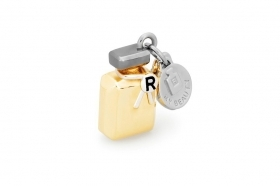 Rosato charm silver gold-plated ruthenium enamel perfume bottle RBE002