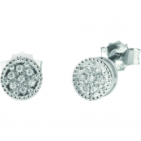 Bliss earrings first love gold diamond 0.042 ct 20076771