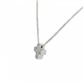 Salvini Necklace cross, cross pendant necklaces gold diamond