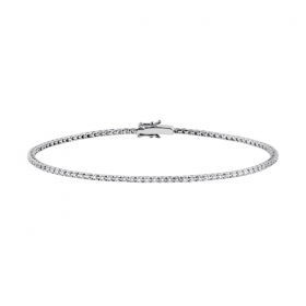 Salvini tennis bracelet white gold diamond 0.23 ct 19.50 cm 20057215