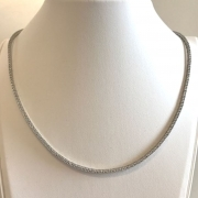 Bliss necklace Royale tennis silver cubic zirconia 20075780