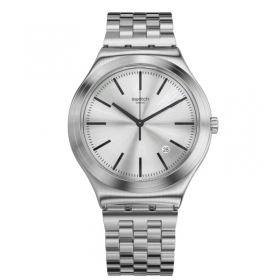 Swatch mens watch stainless st