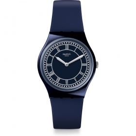 Swatch gent watch roman numerals BLUE WELL GN254