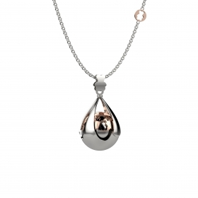 Nanan pendant necklace bundle silver 100 cm nan0003