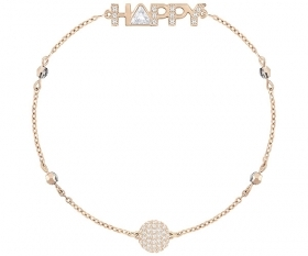 Swarovski Swarovski Remix Collection Happy, white, pink gold-Plated 5423171