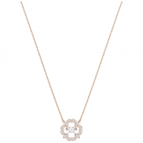 Swarovski Necklace Sparkling D