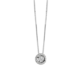 Salvini necklace gold diamonds