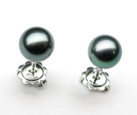 Salvini earrings pearls tahiti mm 8.75 20075524