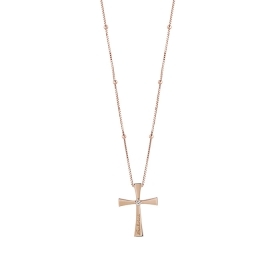 Salvini necklace rosary rose g