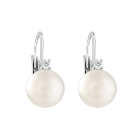 Salvini earrings pearls diamonds 20064452