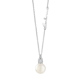Salvini necklace pearl diamond