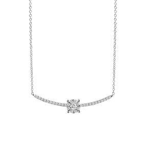 Salvini necklace in white gold