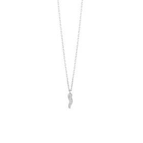 Salvini necklace white gold 9k