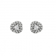 Salvini earrings white gold and diamonds 0.16 ct 20066746