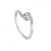 Salvini ring primobacio white gold diamond 0.09 ct 20067577