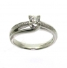 Salvini ring white gold diamonds 0.30 ct within gia 0.05 with gh 81069609