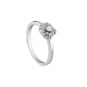 Salvini white gold ring with diamonds 0.12 ct 20066738