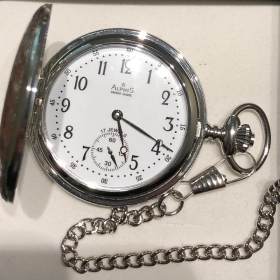 Alphis pocket watch mechanical de lupis art.80