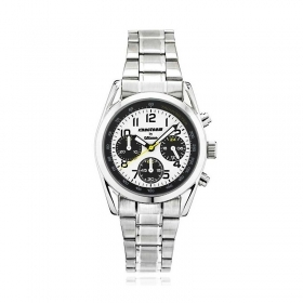 Macteam steel watch 39 mm chronograph 7964