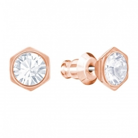 Swarovski earrings rose gold light 5371199