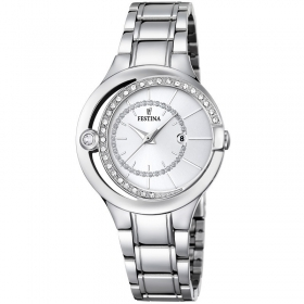 Festina watch Mademoiselle stainless steel date F16947/1
