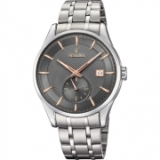 Festina man watch back stainless steel quad grey F20276/3
