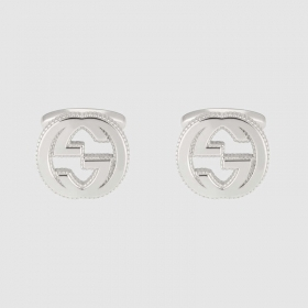 Gucci silver Cufflinks with GG detail YBE499010001