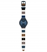 Swatch watch skinkiss ultra-thin big SVUN103