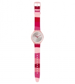 Swatch watch ultra thin pink S