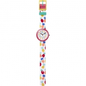 Fliak Flak watch girl NANANAS pineapple colorete FBNP110