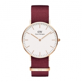 Daniel Wellington Classic 36mm Roselyn steel case DW00100271