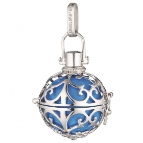 Engelsrufer charm called Angels silver ball turquoise customizable ER-06-M