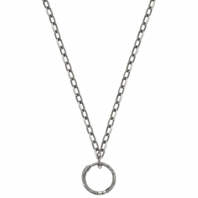 Gucci Necklace 60 cm with pendant Style antique silver YBB52459800100U