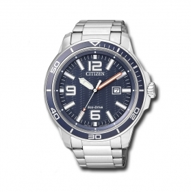 Citizen watch eco-drive man date steel AW1520-51L