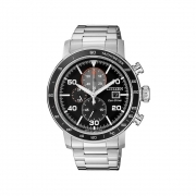 Citizen watch chrono steel eco-drive CA0641-83E