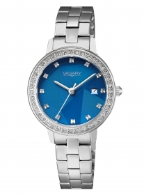 Vagary watch woman steel blue dial only time date IU1-417-71