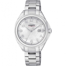 Vagary ladies watch white dial date display VE0-311-21