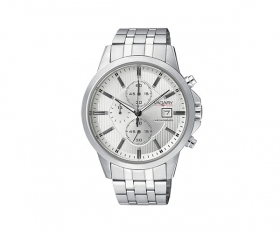 Vagary watch chrono man stainless steel silver dial IA9-110-11