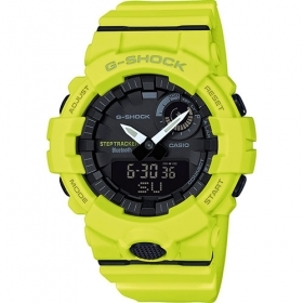 Casio g-shock watch resin bluetooth anti-shock GBA-800-9AER