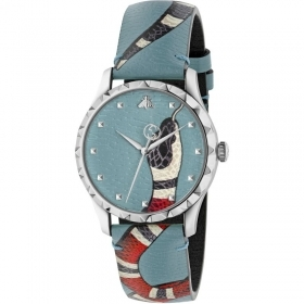 Gucci watch Brands des Merveilles, 38 mm snake blue YA1264080