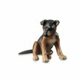 Royal Copenhagen statue puppy German shepherd 1249683