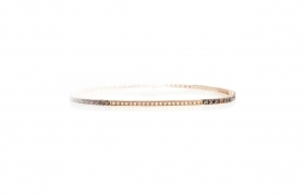 Nardelli bracelet men rose gold with diamonds UBR078