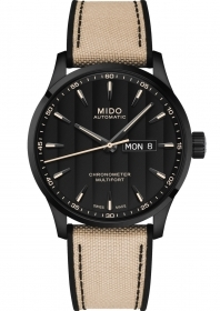 Mido man watch multifort certificate-certified by the cosc pvd M038.431.37.051.09