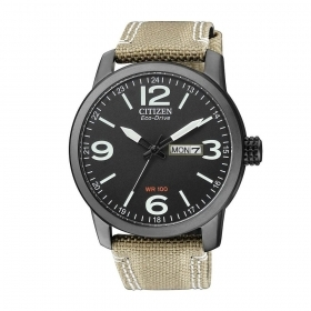 Citizen Urban case steel black finish BM8476-23E