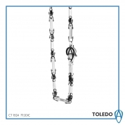 Necklace Aragonese toledo steel 316 l 50cm CT1824