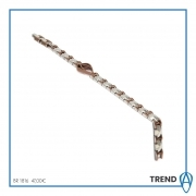 The aragonese Bracelet, Steel Pvd Coffee Chain BR1816