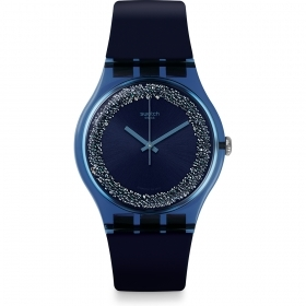 Swatch woman watch new gent blue BLUSPARKLES SUON134