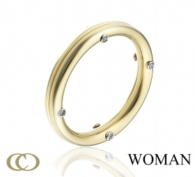 Chimento ring faith ring gold