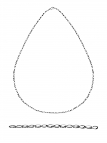 Chimento necklace in white gold 18 kt 50 cm 1G05286ZZ5500