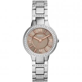 Fossil watch, women's virginia stainless steel 30 mm ES4147